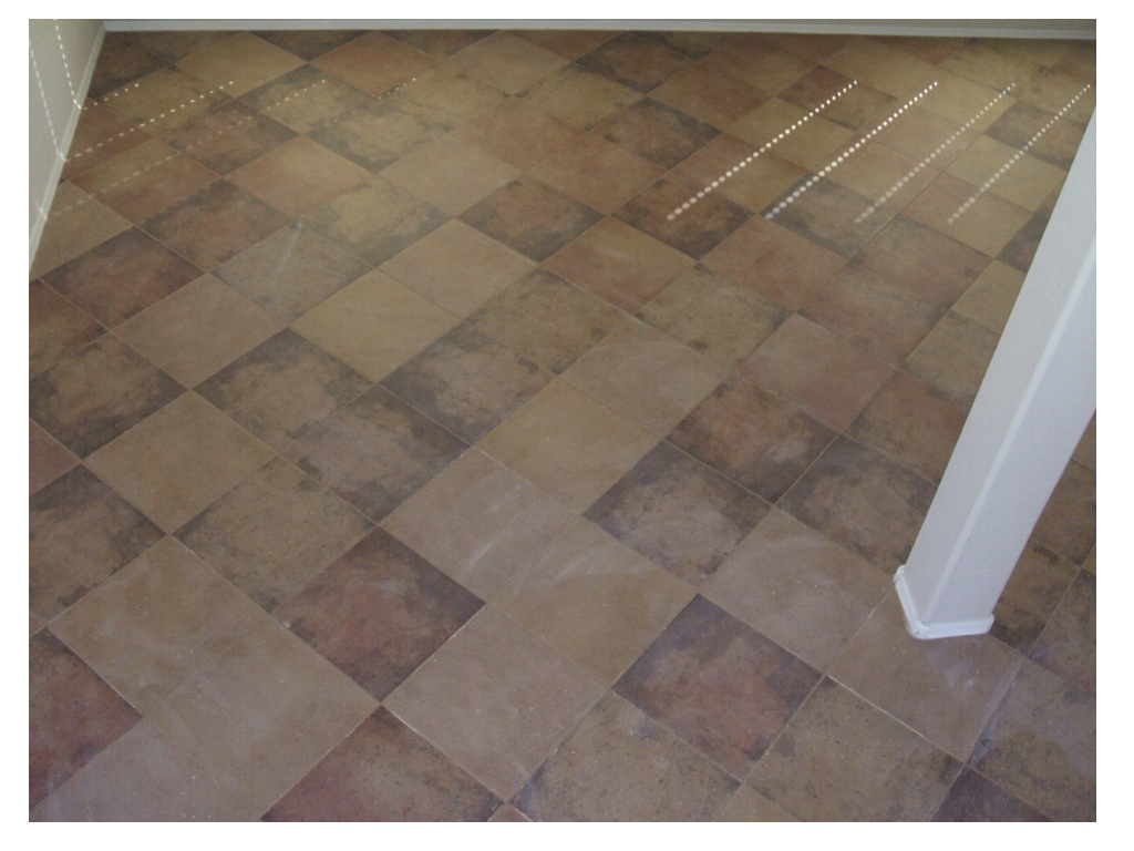 Tiled Flooring – Green Paradise