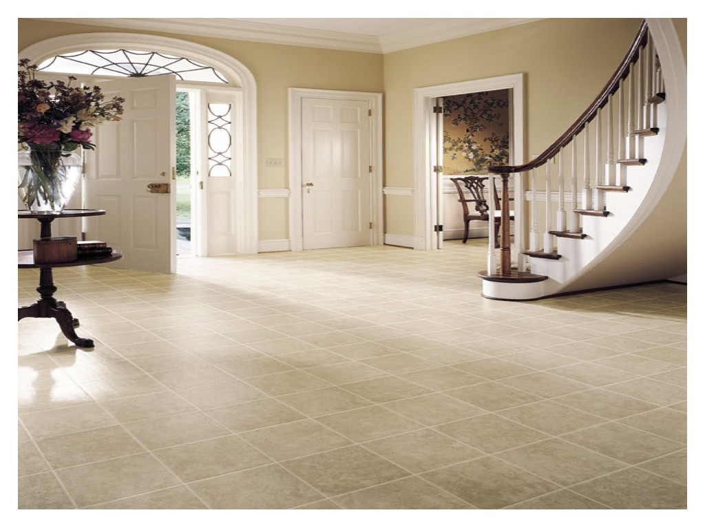 Tiled Flooring – Green Paradise